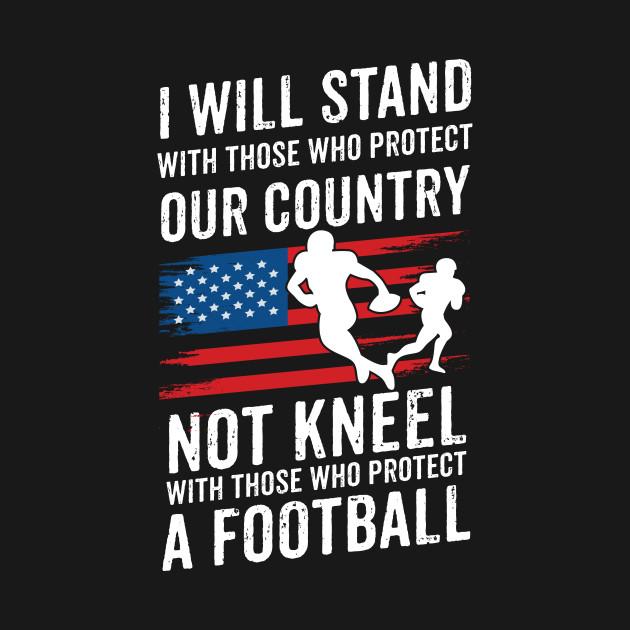 Football American Flag Shirt