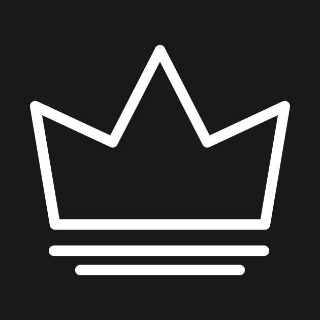 White Crown Logo White Crown Logo T Shirt Teepublic