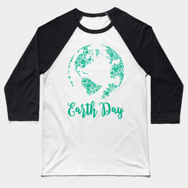 Earth Day World Leaves - Earth Day graphic Gift Baseball T-Shirt