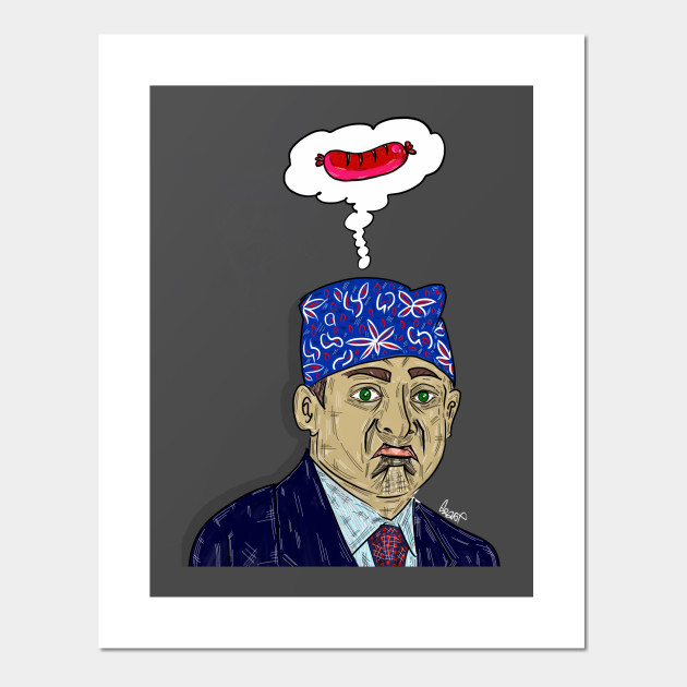 27826a776 Prison Mike! - The Office - Posters and Art Prints   TeePublic