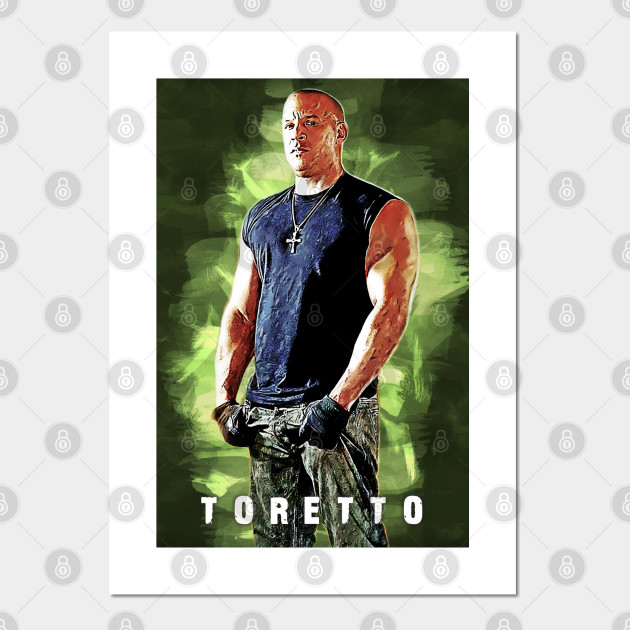 Dominic Toretto the Fast & Furious Artwork
