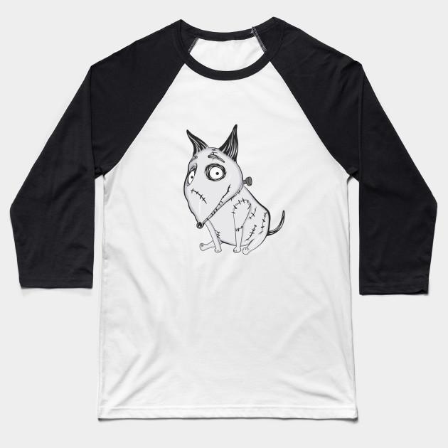 Frankenweenie Sparky Frankenweenie Baseball T Shirt Teepublic