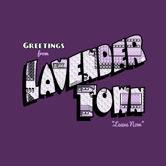 Greetings from Lavender Town