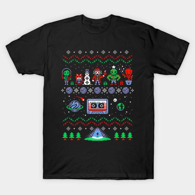 ad0ddf735 Guardians of the galaxy Ugly Christmas Sweatshirt, Sweatshirt, T shirt,  Adam Warlock, Star Lord, Groot, Mantis, Rocket Raccoon, Quasar, Drax T-Shirt