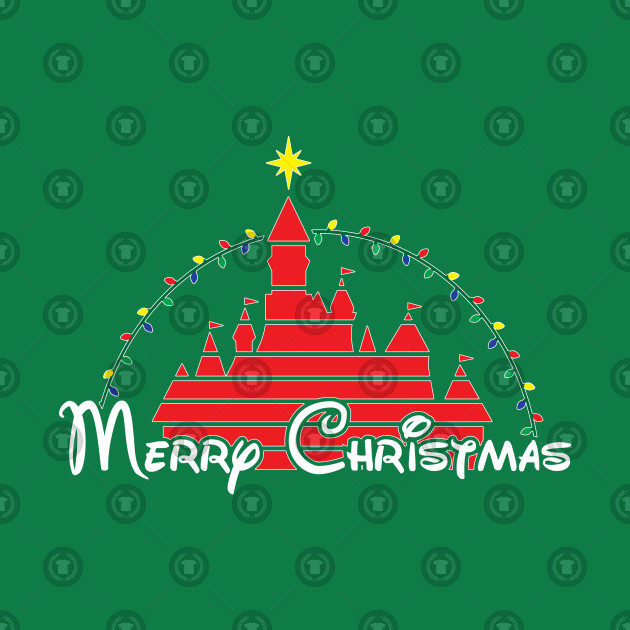 Merry Christmas at the happiest place on earth RED