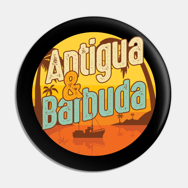 National Pride Patriotic Antiguan Antigua Barbuda Country Travel Gift