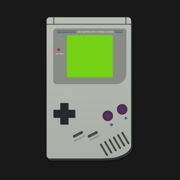 Video Game Inspired Console GameBoy Color