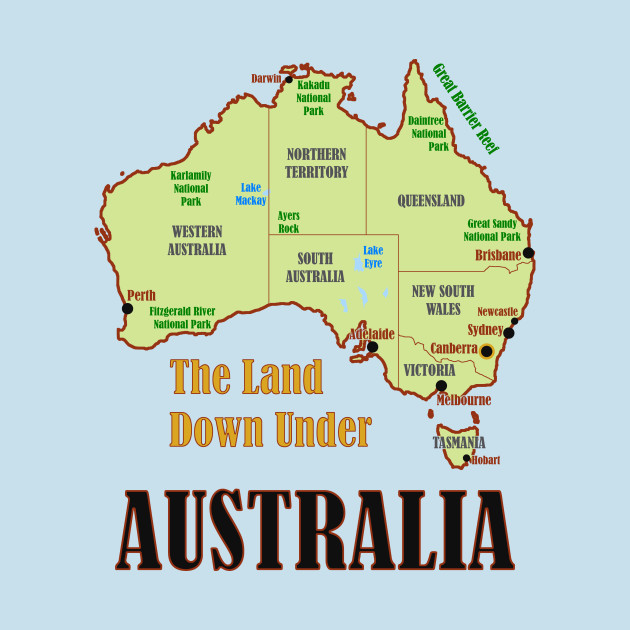 Map Of Australia Images.Australia Map Australia Kids Long Sleeve T Shirt Teepublic