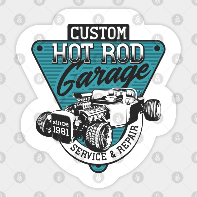 Custom Hot Rod Garage 1981