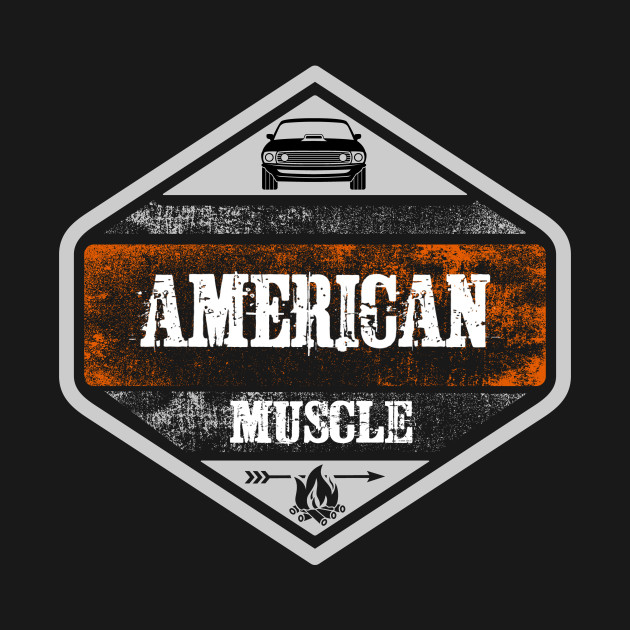 American Muscle Vintage Distress
