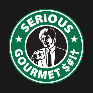 Some Serious Gourmet Coffee (clean) t-shirts