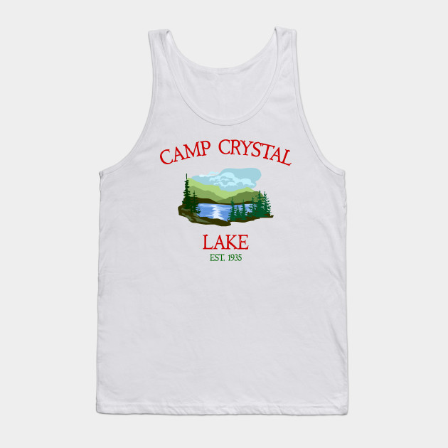 991d3b9ce129 Camp Crystal Lake Tank Top