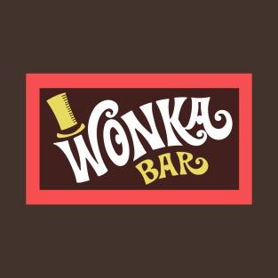 Willy Wonka Bar Logo t-shirts