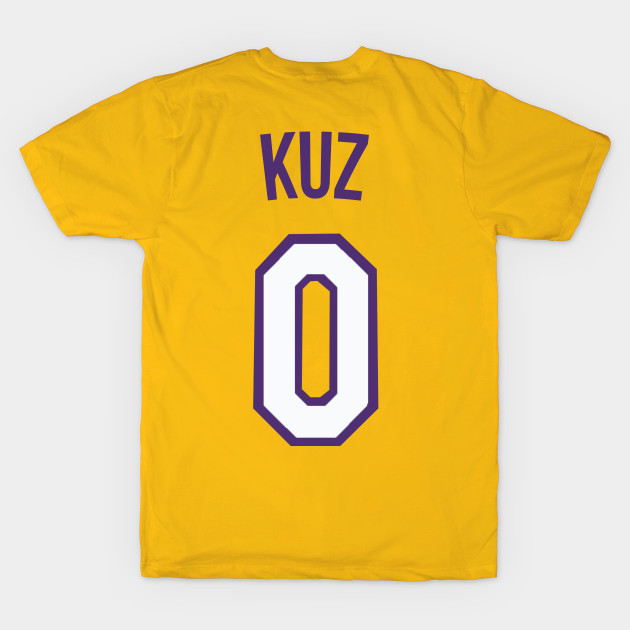 buy popular fa5cc 61d1d Kyle Kuzma 'KUZ' Nickname Jersey - Los Angeles Lakers