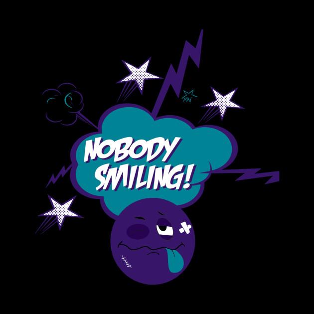 Nobody Smiling Emoji Grape