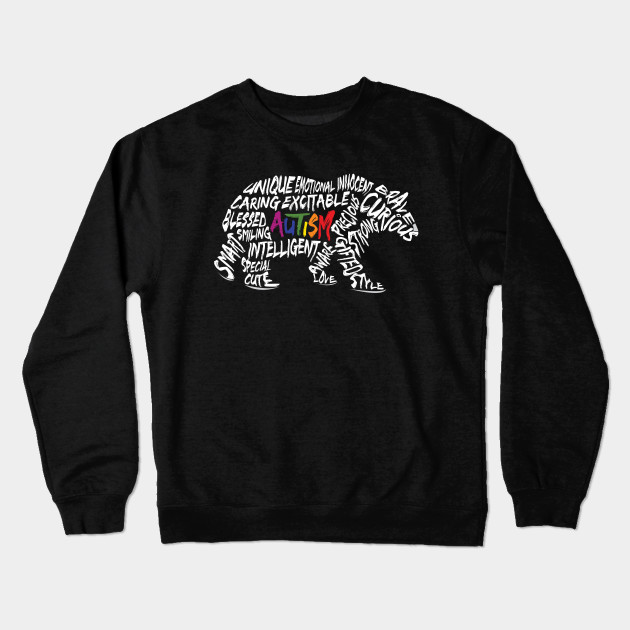 e1330206fcc Autism Awareness T-Shirt Bear T-Shirt Autism Support Autism Mom ...