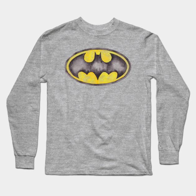 Batman Symbol Batman Long Sleeve T Shirt Teepublic