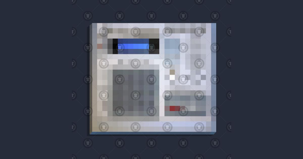 Pixelated MPC 3000 Beat-Maker Tribute Design by dankfutura