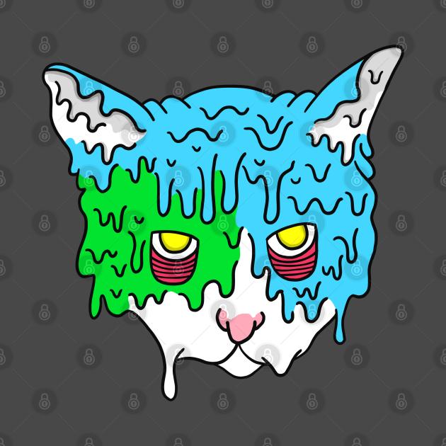 Grime Art Cat