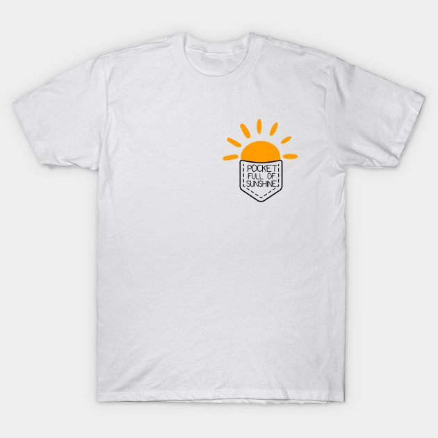 bb0a6718caa3 Pocket full of sunshine - Sunshine - T-Shirt