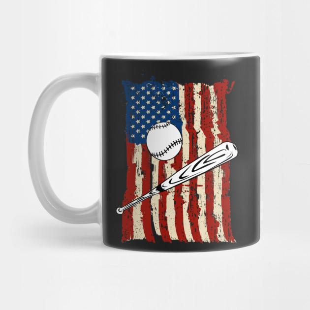 e685c8ff5e97 American Baseball Flag Best Baseball Player Gift - Baseball American ...