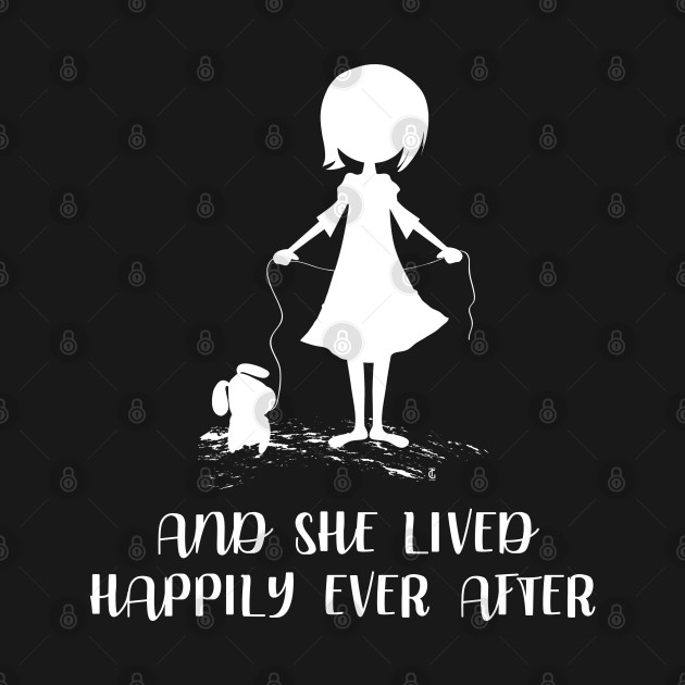 And She Lived Happily Ever After Dog Lovers Gift