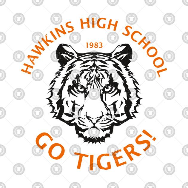 Hawkins High School 1983 (aged look)