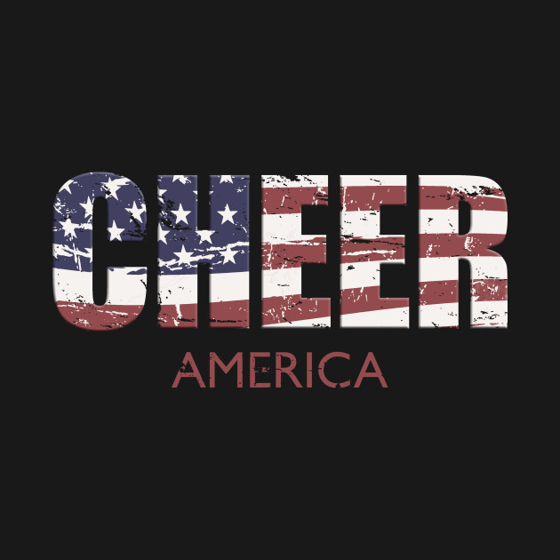 Cheer America USA Flag Cheerleading Practice Gear