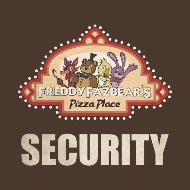 Five Nights at Freddy's - FNAF - Freddy Fazbear's Pizza Security