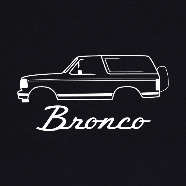 Ford Bronco 1992-1996 Side