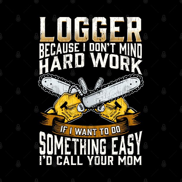 Funny Logger Design