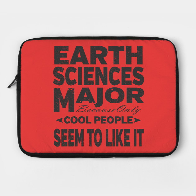 Earth Science College Majors Laptop Case