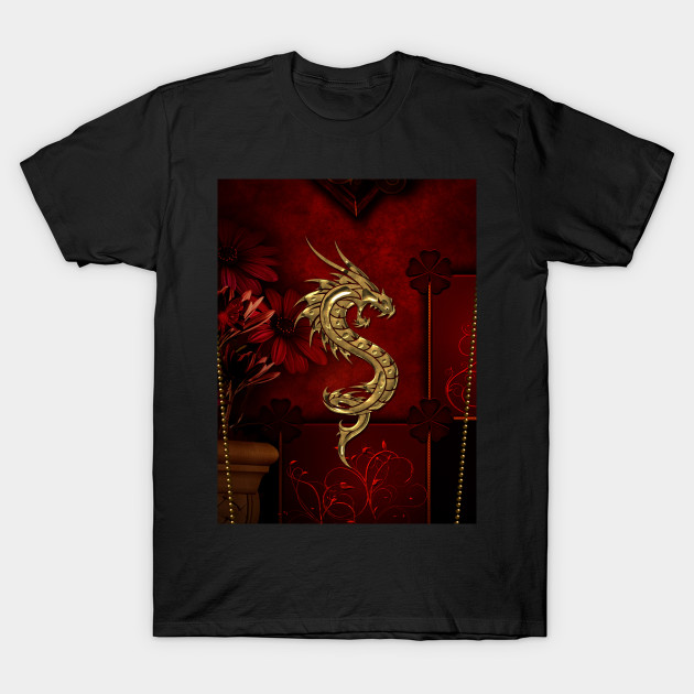 13165f92d Wonderful dragon - Dragon Fantasy Mystical Gold Red Wings Chinese ...