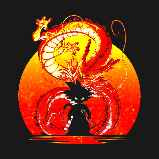 DRAGON BALL SILHOUETTE