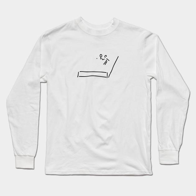 tennis player - Court - Long Sleeve T-Shirt  7bdd6ede1f778