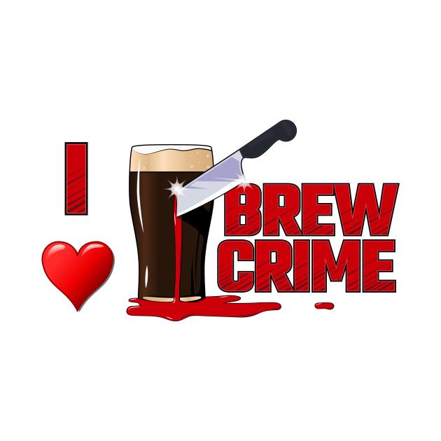 I heart Brew Crime Alternate