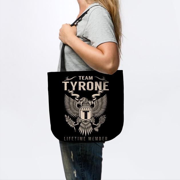 Team TYRONE Lifetime Member