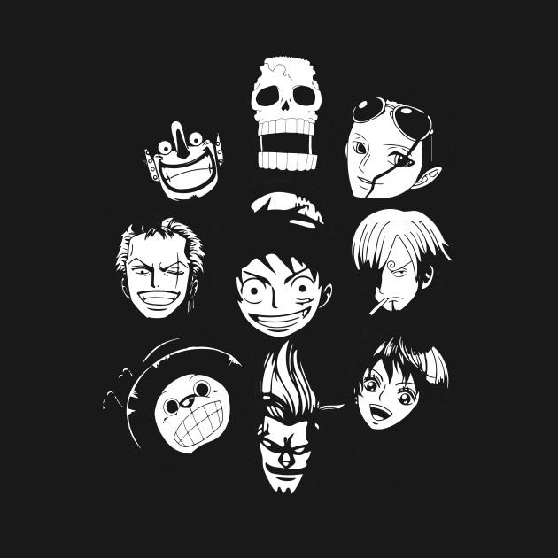 One Piece - straw hat team