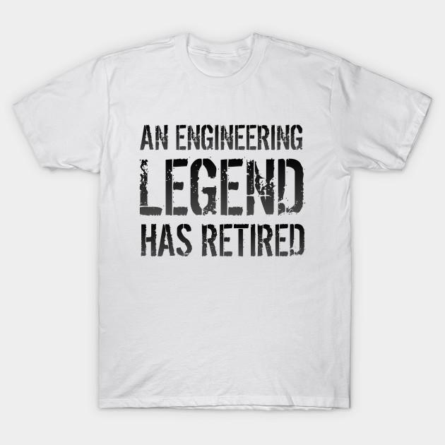 2fad9edf Retired Engineer Retirement Gift For Men Women - Engineer - T-Shirt ...