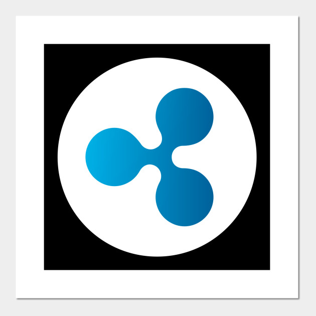 Ripple Logo Shirt XRP Logo Coin Crypto Cryptocurrencies Miner