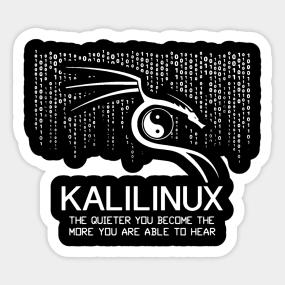 Kali Linux design- Kali Linux Sticker
