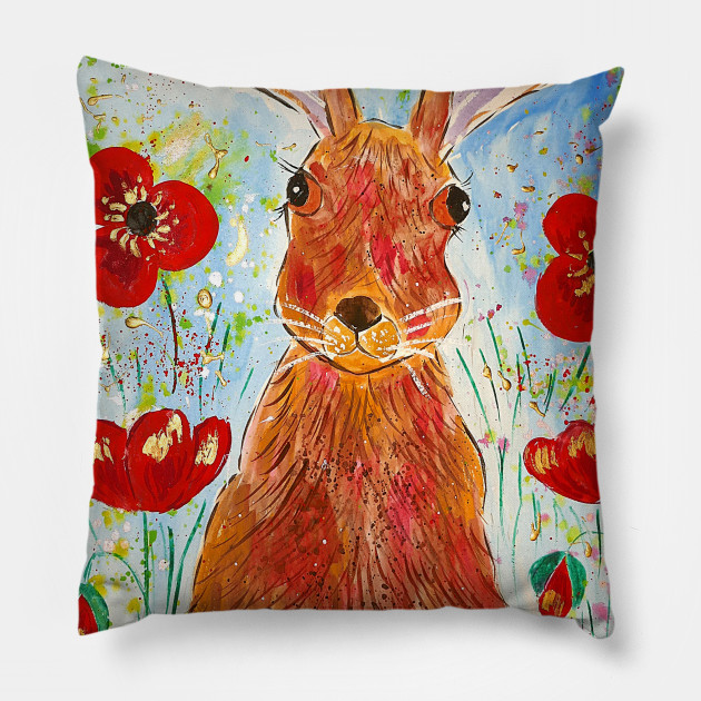 Hare among Poppies