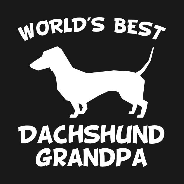 World/'s Best Dachshund Grandpa Dog Owner T-Shirt
