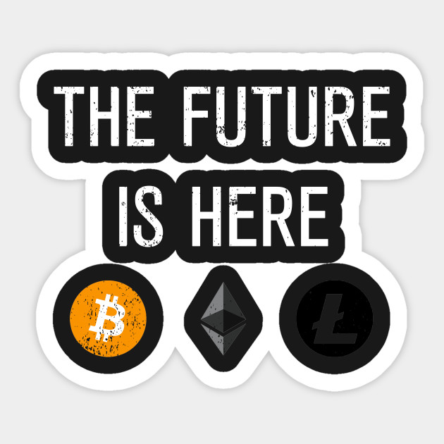 Future Is Here! Sticker
