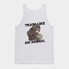 4ff790099bd12 Main Tag Funny Bodybuilding Animals Gift Tank Tops