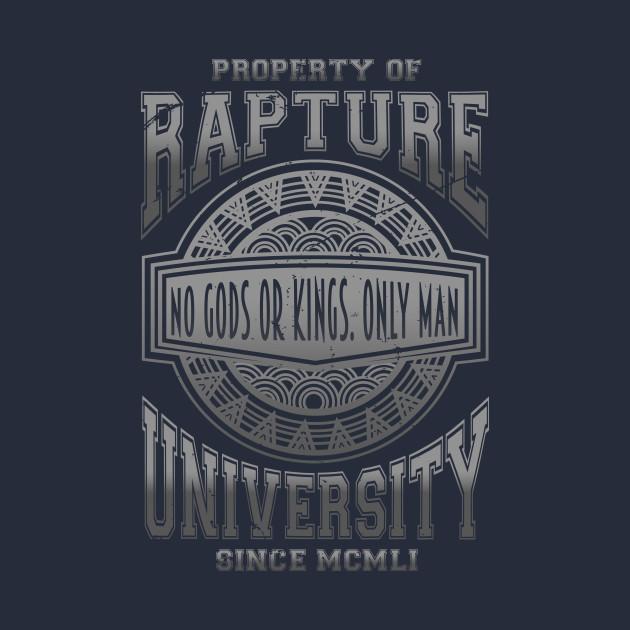 Rapture Univeristy (silver Version) T-Shirt