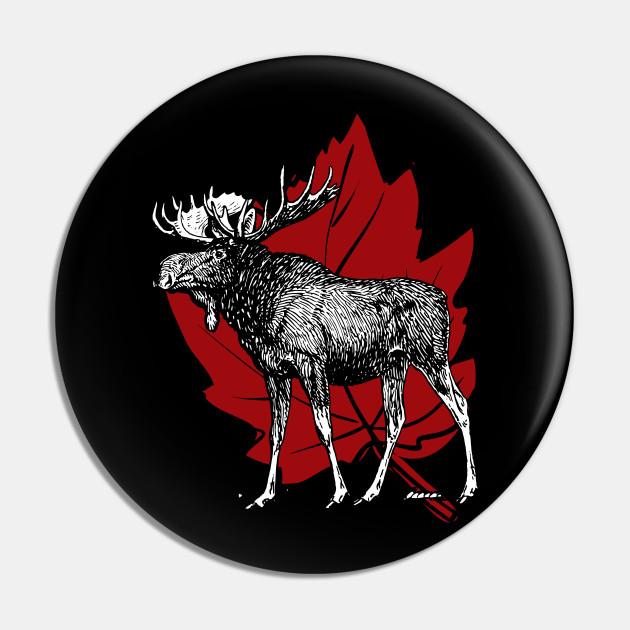 Maple Leaf Canadian Moose