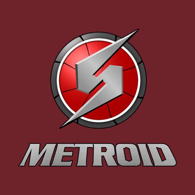 Metroid Logo - Metroid Logo - T-Shirt | TeePublic