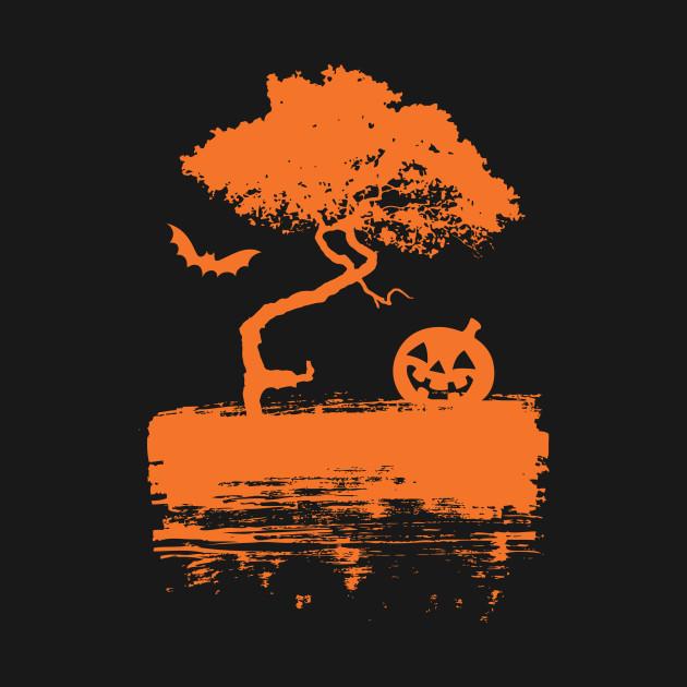 Spooky Night - Jack-O-Lantern - Cool Halloween Shirt