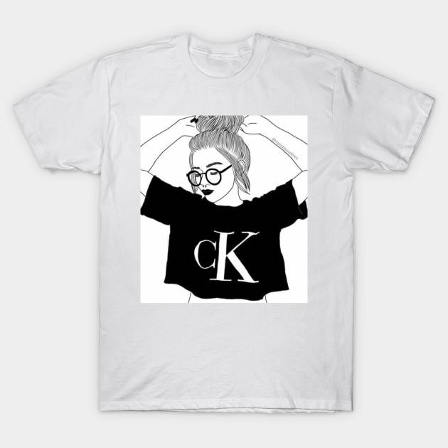 6b4f8b8d1860b6 Tumblr girl - Tumblr - T-Shirt | TeePublic